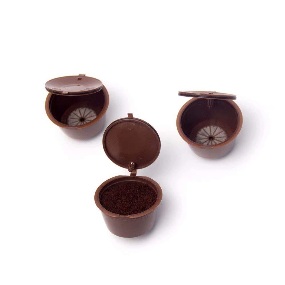 3 CAPSULAS PARA EL CAF/é REPONIBLE COLEGABLE RELLABLE DOLCE GUSTO 1 cucharadita