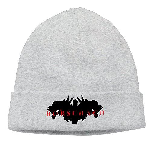 Cotton Unisex RORSCHACH Hardcore Punk Powerviolence Caps Skull Beanies Hat (Rorschach Hat)