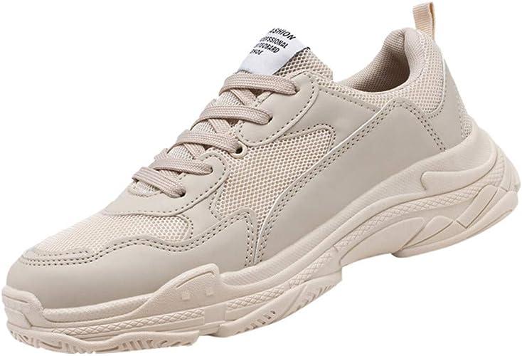 Jodier Zapatillas de Deporte Respirable Sneakers Zapatillas Running para Hombre Mujer Unisex Deportivas Aire Libre y Deportes Montaña y Asfalto Zapatos para Correr Running Malla Transpirable Casuales: Amazon.es: Zapatos y complementos