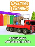 Amazing Learning - Colorful video with Animal for Kids