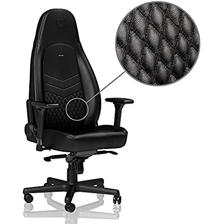 Noblechairs ICON Series Real Leather Black