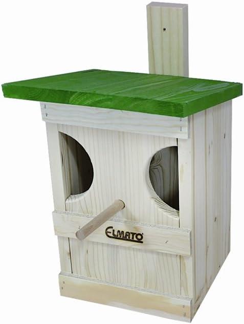 Elmato - Caja Nido para petirrojos: Amazon.es: Productos para mascotas
