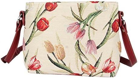 Signare Womens Tapestry Fashion Shoulder Handbag Across Body Willow Bough