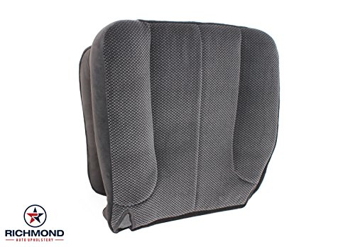 Richmond Auto Upholstery 2003 2004 Dodge Ram 1500 2500 3500 SLT -Driver Side Bottom Cloth Seat Cover - Truck Seat Upholstery