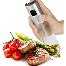 Olive Oil Sprayer for Cooking Baking Barbecue Fryer, Portable Glass Spray for Vinegar Spice Wine