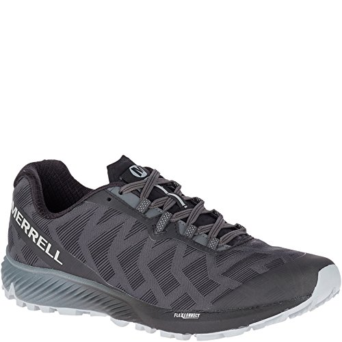 Merrell Men's, Agility Synthesis Flex Trail Running Sneakers Black 10.5 M (Wolverine Trail Runner)