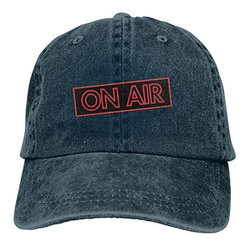 (Yuan Kun No Air Unisex Washed Adjustable Fashion Cowboy Hat Denim Baseball Caps)