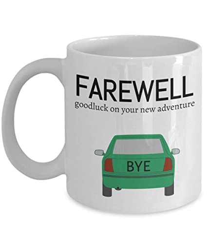 947507ef3bb Goodbye boss Coworkers Co-worker best mugs coffee tea cup gifts funny  friend colleague Retirement