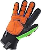 Ergodyne ProFlex 925F(x)OD Thermal Waterproof  Dorsal Impact-Reducing Gloves w/ OutDry, X-Large, Lime