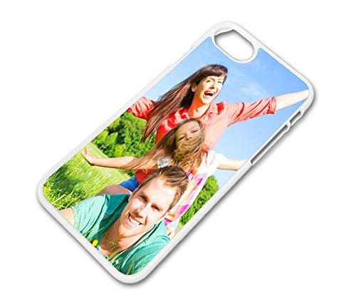 Hülle für iPhone 7 Plus Schale Cover Case mit eigenem Wunsch Foto Motiv Design Logo, Farbe:Transparent