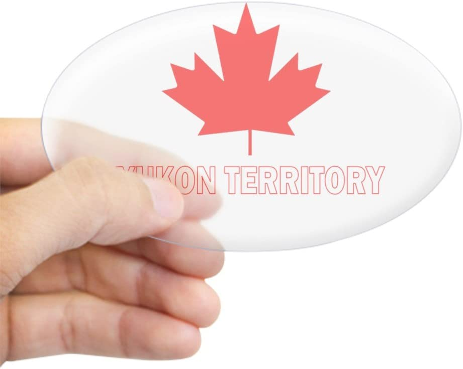 BRAND NEW BEST QUALITY CANADA YUKON FLAG ADHESIVE VINYL DECAL STICKER REFLECTIVE