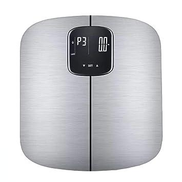 Alta Precisa Báscula De Baño Digital,Báscula Bluetooth Inteligente Grasa Corporal Báscula Capacidad De 150 Kg Gran Plataforma LED Pantalla Diseño Extraplano ...