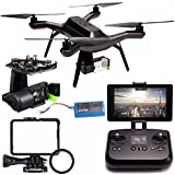 3DR Solo Quadcopter + 3DR Solo Gimbal for GoPro HERO3+ and HERO4 Bundle