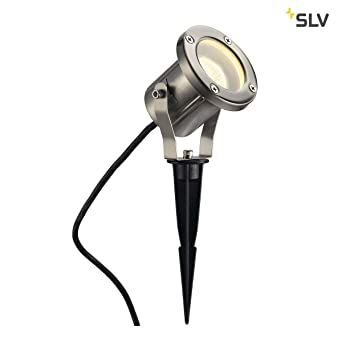 Extrem SLV LED Strahler NAUTILUS mit Erdspieß | Außenlampe für die KV38