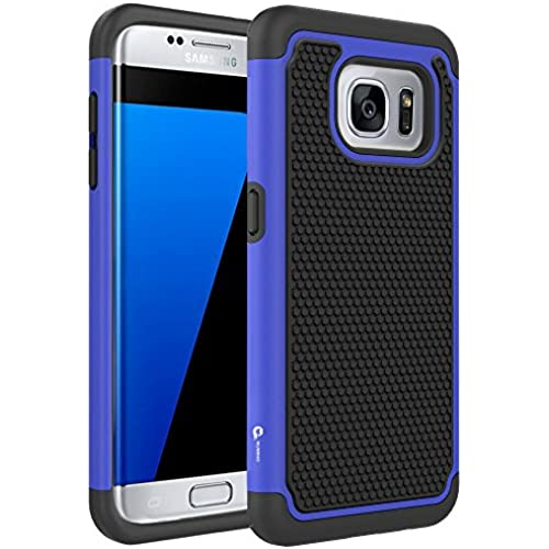 S7 Edge Case, KUMIHO [Hybrid Dual Layer Armor] [Shock Proof] Defender Protective Case Cover for Samsung Galaxy Sales