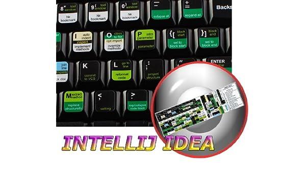 INTELLIJ IDEA New Keyboard Labels Shortcuts: Amazon ca
