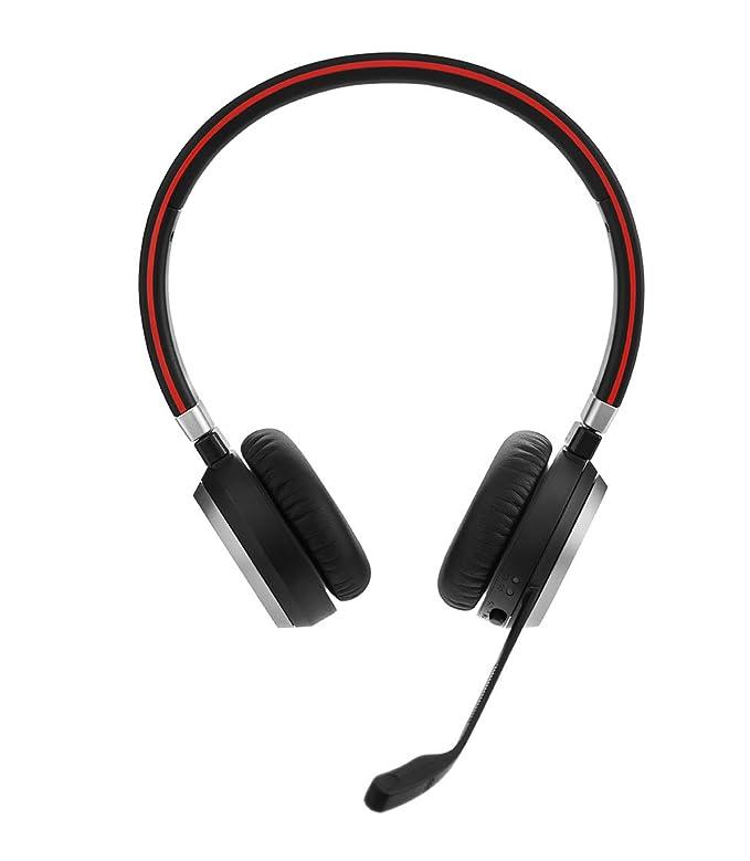 Jabra Evolve 65 cascos estéreo y mono para oficina inalámbricos con Bluetooth®, negro: Amazon.es: Electrónica