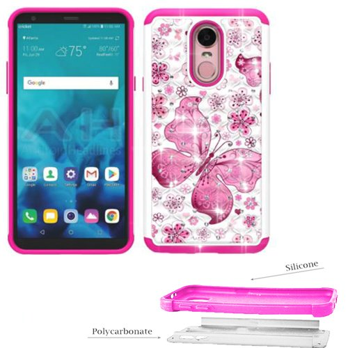 buy online fbe87 3dd2e Amazon.com: Phone Case For LG Stylo-4 (Q710MS MetroPCS / Q710CS ...