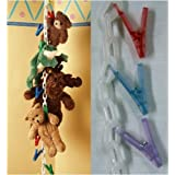 Original Chain Gang Toy Organizer - Pastel 20 count