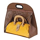 Ideas for Bathroom Cabinet Colors Today's Deal Santwo Handbags Storage Hanging Closet Bag Organizer Purse Holder PVC Bag and Save Space (WL, Brown)