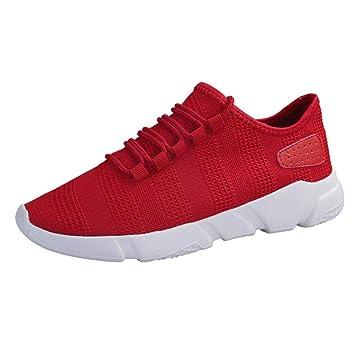c7bd542f5 WWricotta LuckyGirls Zapatillas de Correr Hombre Malla Casual Cómodas  Calzado Deportivo Zapatos Planos Informales Bambas de Running: Amazon.es:  Deportes y ...