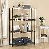 4-Shelf Storage Shelves Heavy Duty Shelving Unit