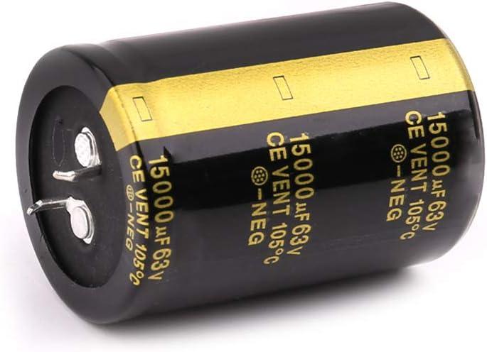 TY-UNLESS 63 V 15000 uF Aluminium Elektrolytkondensator Verst/ärker Audio Filter Kondensatoren