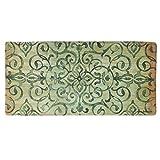 kitchen floor mat green - Oversized 20