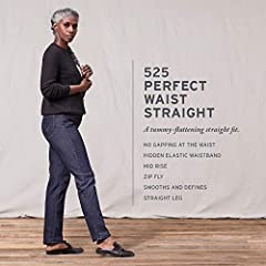 With a no-gap, hidden elastic waistband and comfortable stretch denim, our 525 jeans feature a fit-defining shape and style, designed to highlight your best assets. If love our 525 jeans, you deserve an upgrade. Try our new 314 shaping straig...