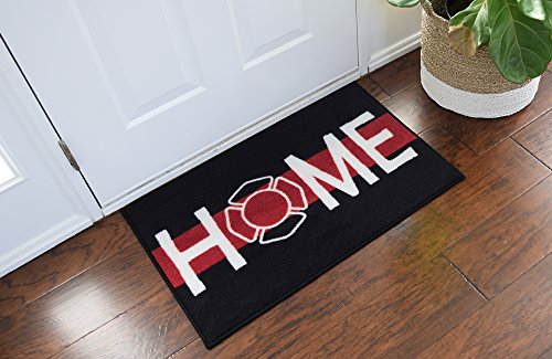 Firefighter Support Welcome Home Door Mat - 2x3