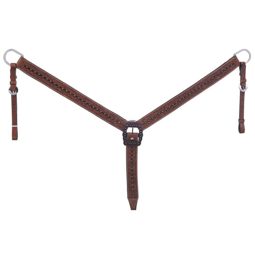 Tough 1 Silver Royal Cooper Belt Breast Collar