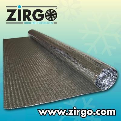 Zirgo 10449 UltraMat Sound Deadening/Heat Reflecting Barrier (1 Roll)
