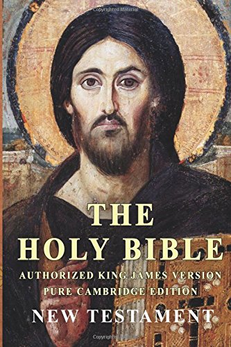 Books : The Holy Bible: Authorized King James Version Pure Cambridge Edition New Testament
