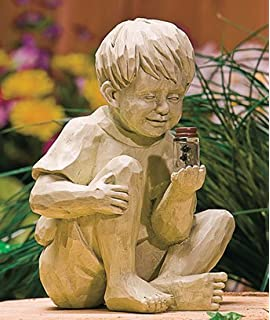 Attrayant KNL Store Solar Garden Light Boy With FireFly