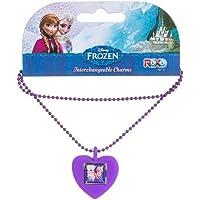 Roxo Disney Frozen Anna & Elsa Roxo Kolye