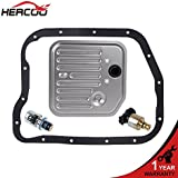 HERCOO Governor Pressure Sensor and EPC Solenoid fits A500 42RE 44RE Transmission with Gasket Filter Kit
