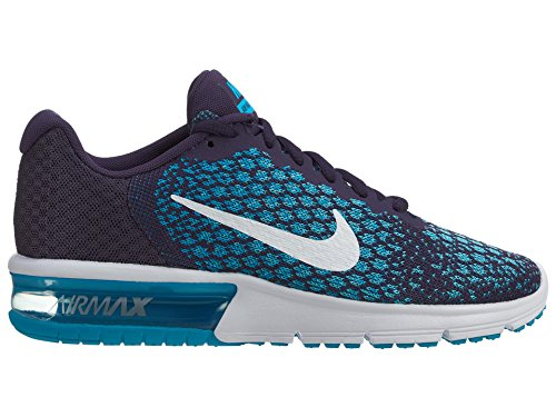 NIKE Damen Air Max Sequent 2 Laufschuh Lila