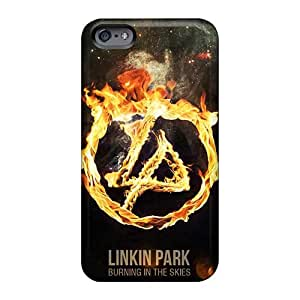 Scratch Protection Cell-phone Hard Covers For Iphone 6 (NAP1042MjnZ) Allow Personal Design Fashion Linkin Park Series