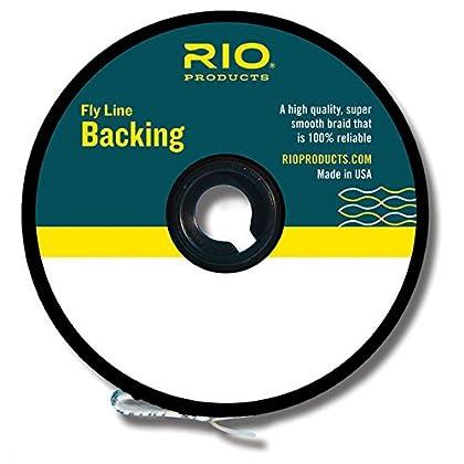 Image of Rio Fly Fishing Backing Dacron 30Lb 2400 yd. Fly Tying Equipment, White