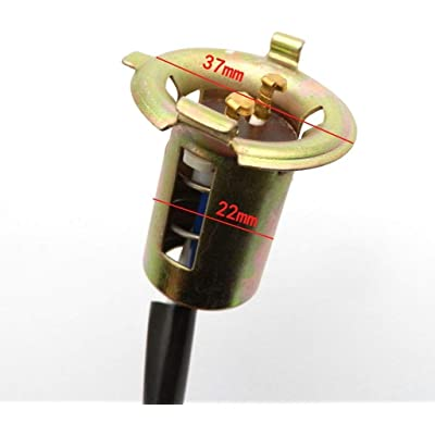 scooter Headlight Bulb Socket Ignitor Wire for GY6 Chinese Sunl Taotao Peace : Sports & Outdoors
