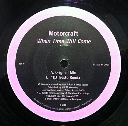 Price comparison product image MOTORCRAFT WHEN TIME WILL COME vinyl record