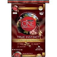 Purina ONE SmartBlend True Instinct with a Blend of Real Turkey & Venison NATURAL Adult Dry Dog Food - (1) 27.5 lb. Bag