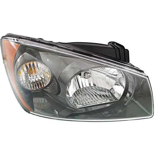 2027609 Headlight for Spectra 04-06 Right Assembly Halogen Hatchback/Sedan New Body Style ()