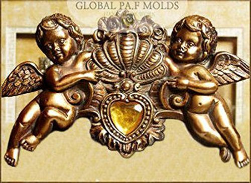 Sugarcraft Molds Polymer Clay Cake Border Mold Soap Molds Resin Candy Chocolate Cake Decorating Tools /Cake Decoration Mould/cherub Mold 898-78767s