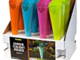 StarSun Depot Metal Garden Tealight Holder Countertop Display - Set of 24