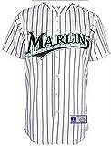 VF Florida Marlins MLB Mens Pinstripe Jersey White Size 2XL