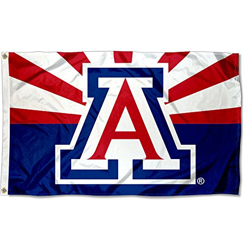 College Flags and Banners Co. Arizona Wildcats AZ State Desi