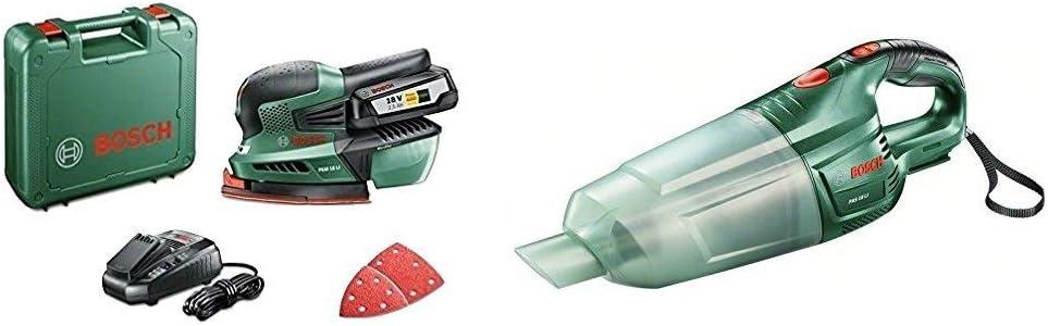 Bosch 0.603.3B9.001 Aspirador, 18 W, 18 V, Negro, Verde + Bosch ...
