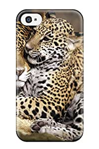 Evelyn C. Wingfield's Shop Iphone 4/4s Case Cover - Slim Fit Tpu Protector Shock Absorbent Case (baby Jaguar)