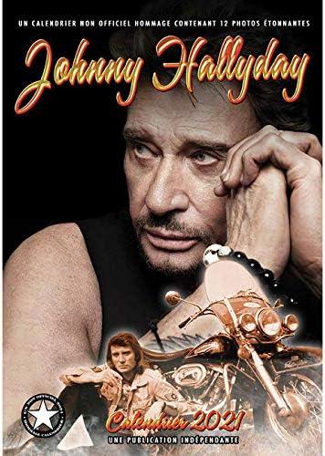 Calendrier 2021 Johnny Hallyday CALENDRIER 2021 JOHNNY HALLYDAY   LE TAULIER   ROCKSTAR   MAXI